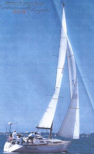 Baltic 35 Ruthless Rider headed for the windward mark