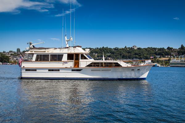 Pacemaker CUSTOM Flushdeck Motoryacht Camelot timeless profile