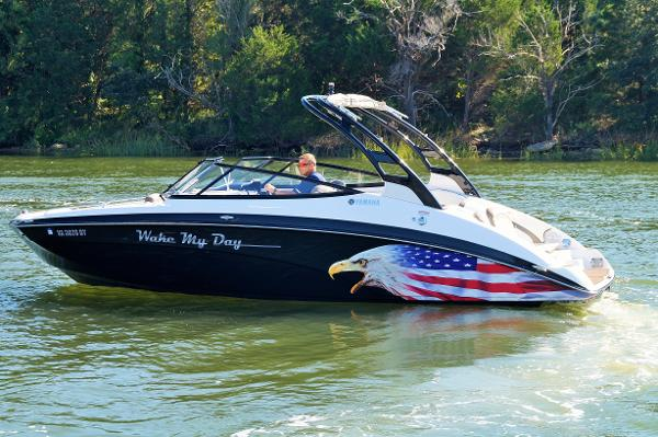 Yamaha Boats 242 Limited S 2015 YAMAHA 242 LIMITED S ON WATER PROFILE