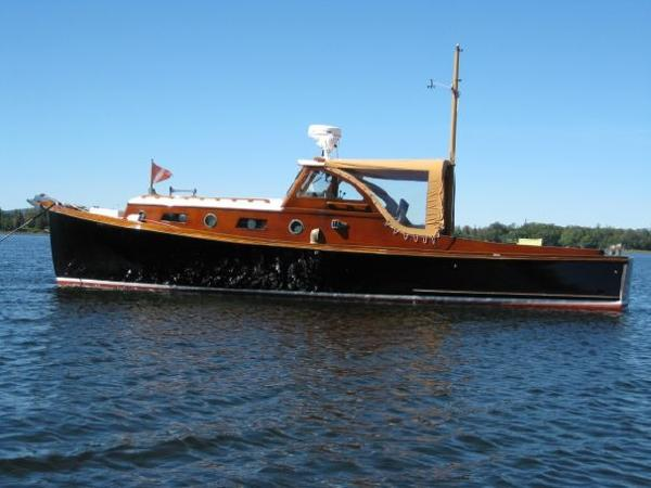 William Frost Downeast Style Lobster Yacht