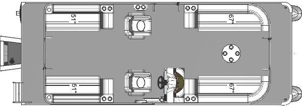 Apex Marine QWEST LS 822 RLS TRIPLE TOON