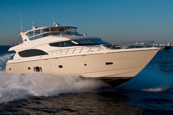 Hatteras 80 Motor Yacht Manufacturer Provided Image