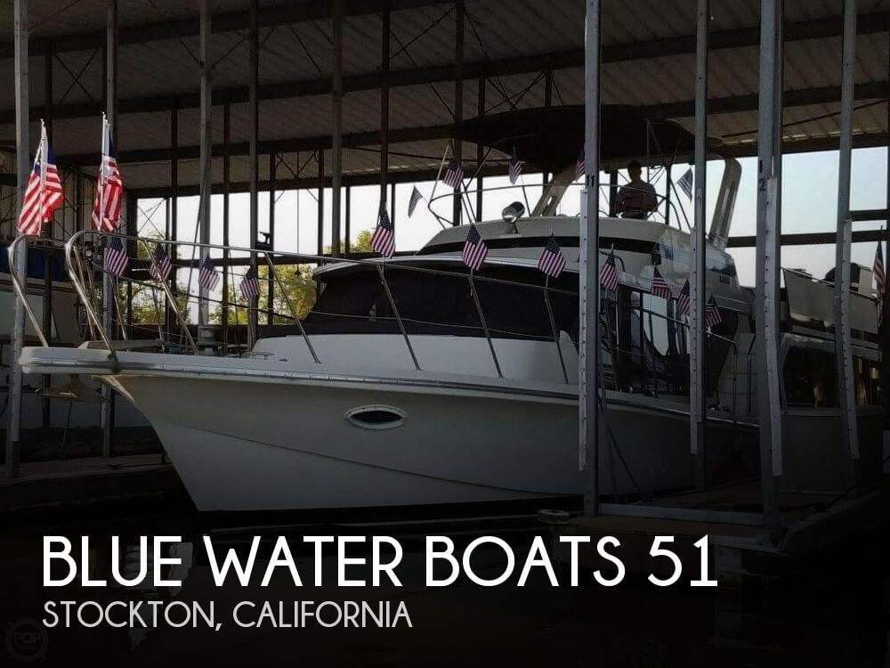 Blue Water Boats 51 1986 Blue Water 51 for sale in Stockton, CA