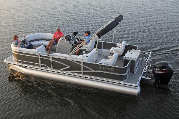 Lund LX220 Pontoon Cruise