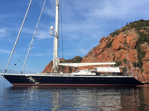Jongert 2900M Jongert 2900M - Blue Papillon - at anchor