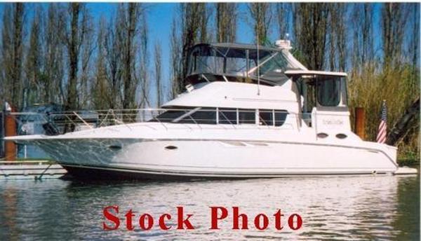 Silverton 442 Cockpit Motor Yacht Port Side Sister Ship