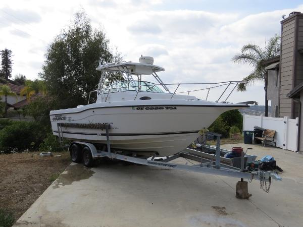 Seaswirl Striper 2600 Walkaround O/B with Trailer Actual Boat