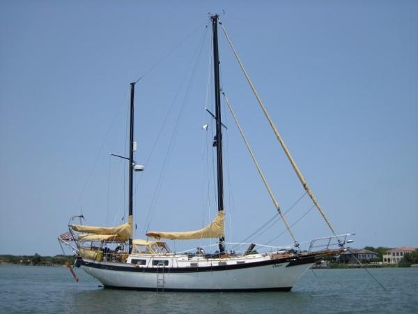 Downeast Yachts 38 Cutter Ketch 38' Downeast 1976 On The Hook II