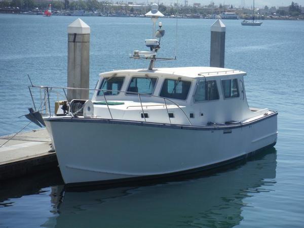 Wilbur Duffy 38 Lobster boat