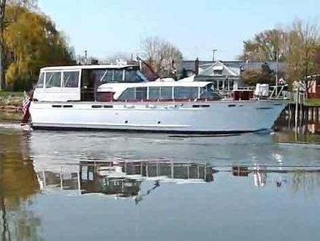 1960 Chris Craft Constellation Detroit Michigan Boats Com