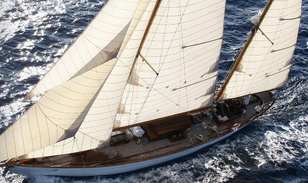 Conrad Talisman 1920 Sailing