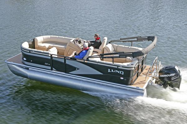 Lund LX220 Pontoon WT DS