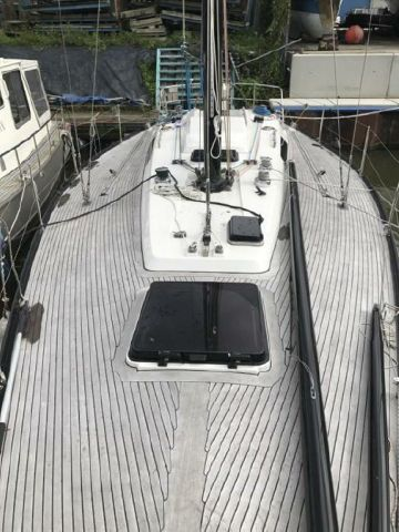Baltic 40 deck