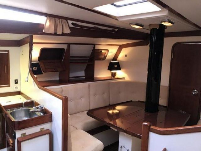 Baltic 40 interior