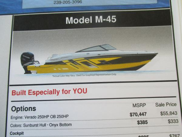 Monterey M45  24ft. OUTBOARD
