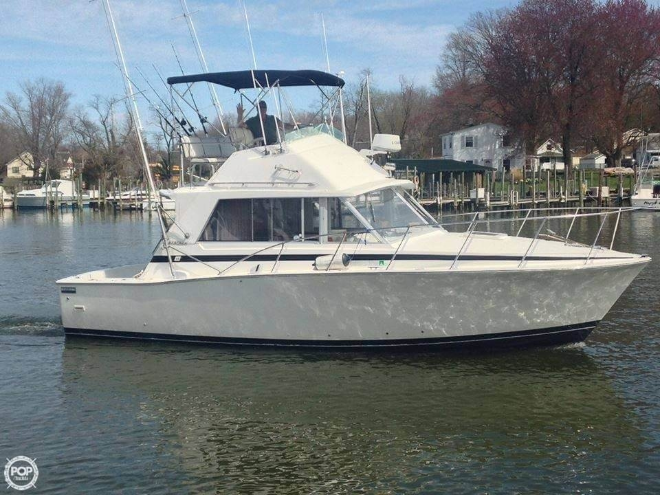 Bertram 33 Flybridge Cruiser 1977 Bertram 33 for sale in Tracys Landing, MD