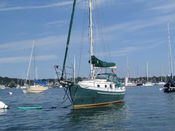 Pacific Seacraft Dana 24 On Mooring