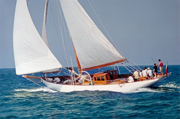 J M Soper...., Philip & Son 62 ft Cutter 1929
