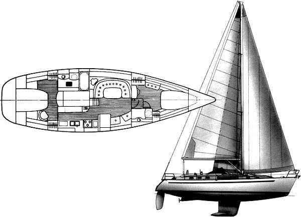 Beneteau Oceanis 44 CC Manufacturer Provided Image