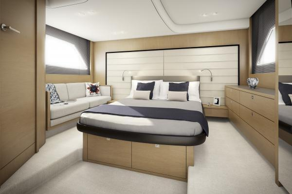 Princess V48 Open Owner's Stateroom