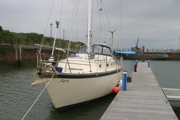 Custom Ocean Going Sea Trader 41 Ocean Going Sea Trader on her berth