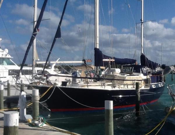 Nauticat 40 Deliverance New Paint Job 2014