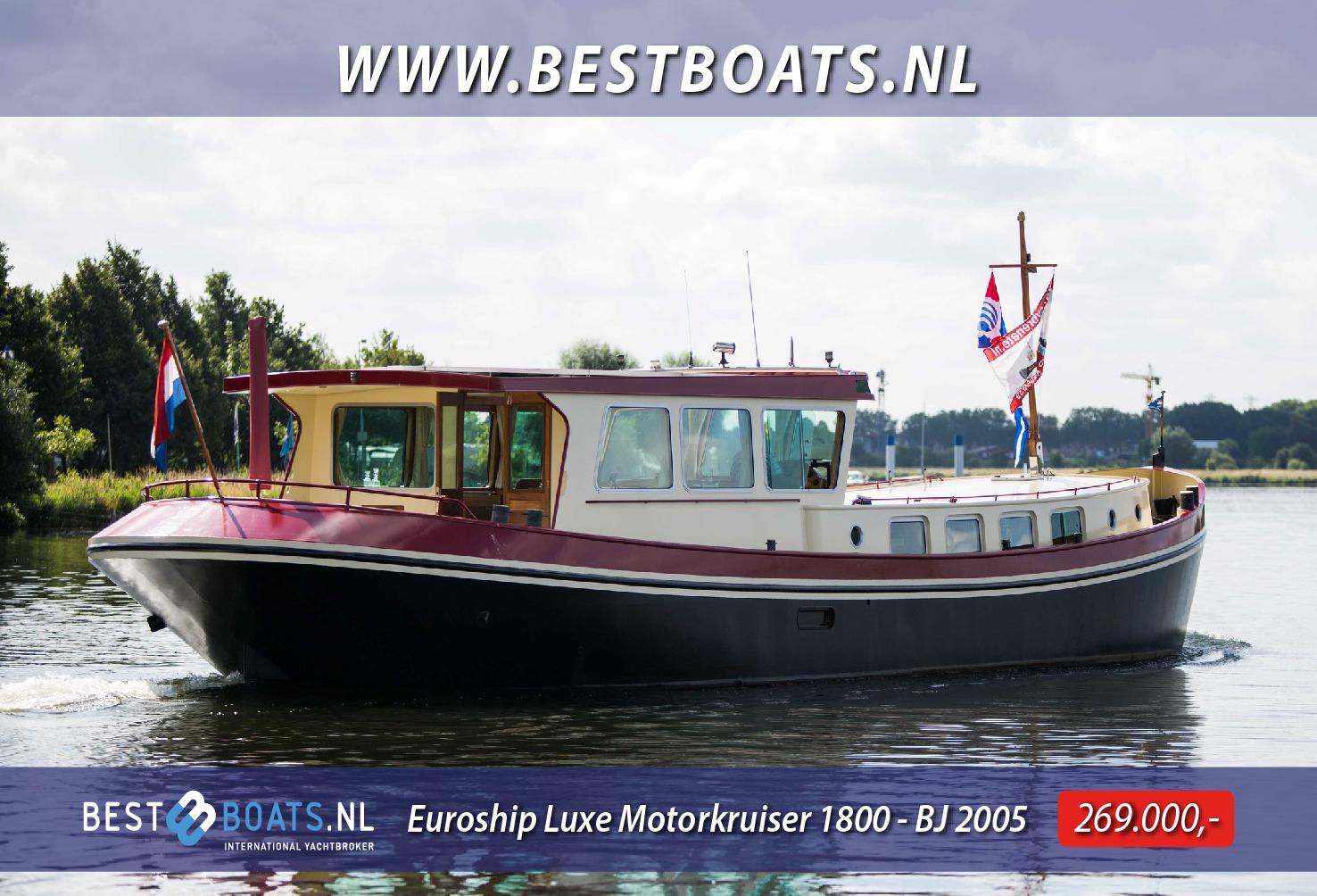 Euroship Luxe Motorkruiser 1800