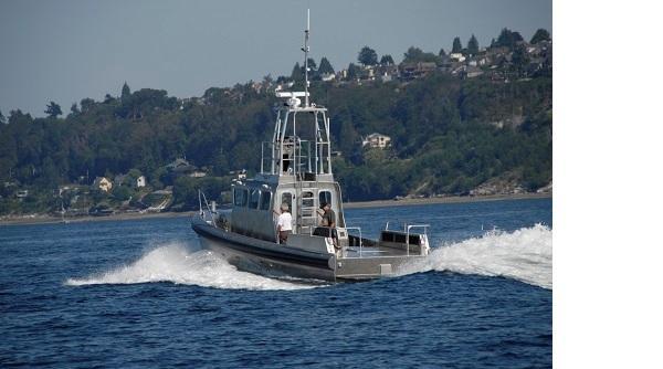 Northwind Aluminum Patrol Police Boat