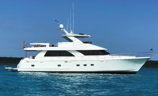 Ocean Alexander Open Flybridge Profile
