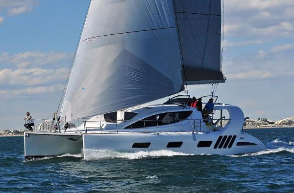 Xquisite Yachts X5 Sail Manufacturer Provided Image: Xquisite Yachts X5 Sail