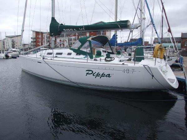 Beneteau First 40.7 At Berth