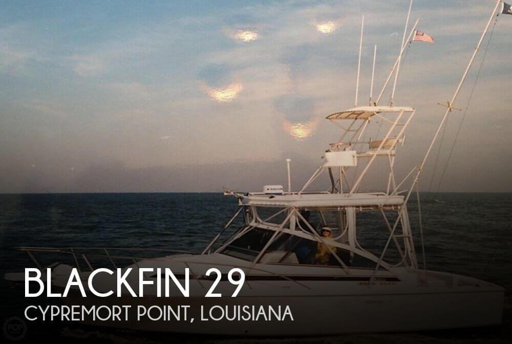 Blackfin 29 Flybridge 1996 Blackfin 29 for sale in Cypremort Point, LA