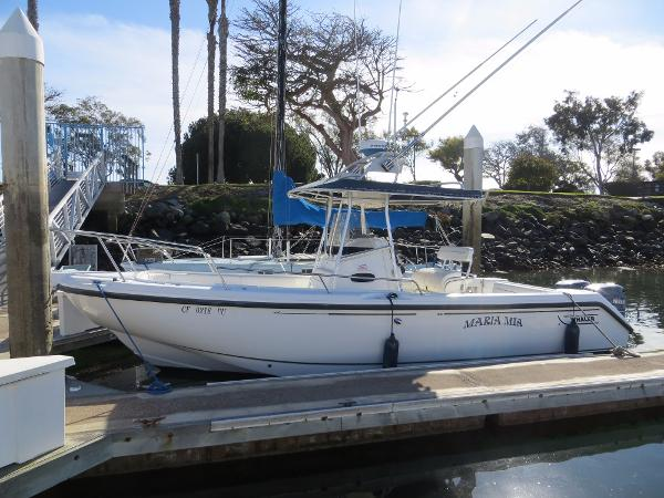 Boston Whaler 26 Outrage Actual Boat