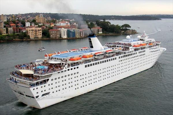 Modern Cruise Ship, 1486 Passengers -Stock No. S2392