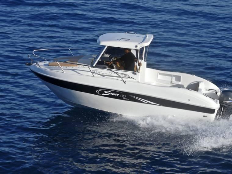 Saver 590 fisher vaarklaar
