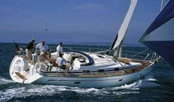 Bavaria Cruiser 42 under sail