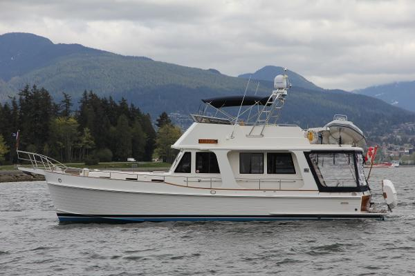 Grand Banks 47 Europa Portside Profile