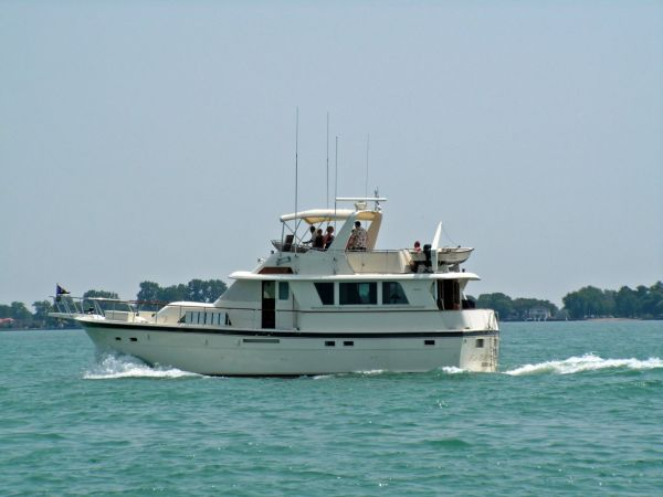 Hatteras Extended Deck Motor Yacht Photo 1