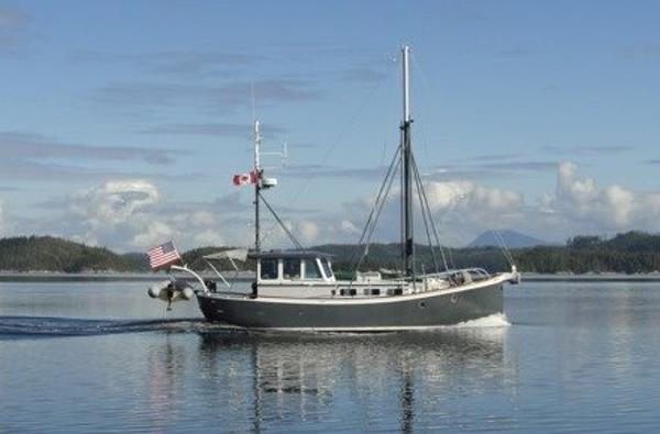 William garden boats for sale for Garden design trawler boat