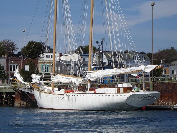 Fiberglass Passenger Schooner  - Certified for 100 Passengers 93' Custom Passenger Schooner For Sale