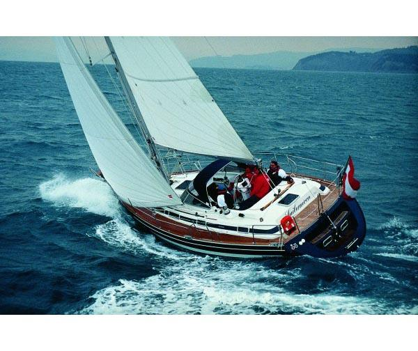 Sunbeam 37 Manufacturer Provided Image: Sailing