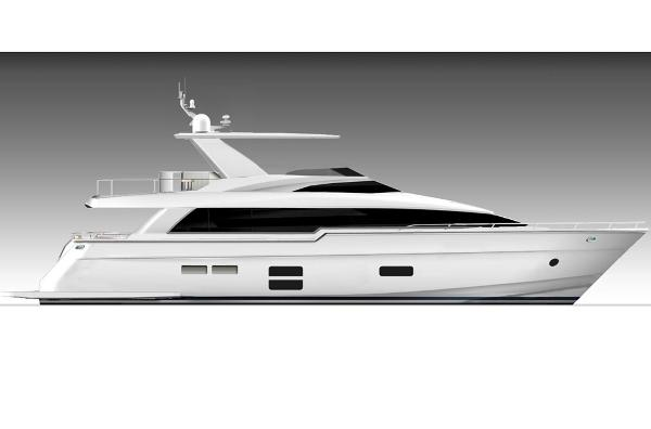 Hatteras 70 Motor Yacht Manufacturer Provided Image