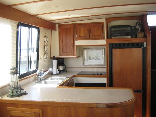 42' Nordic Tug galley