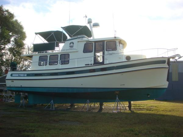 42' Nordic Tug starboard profile