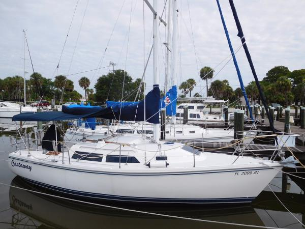 Catalina 28 Starboard Profile