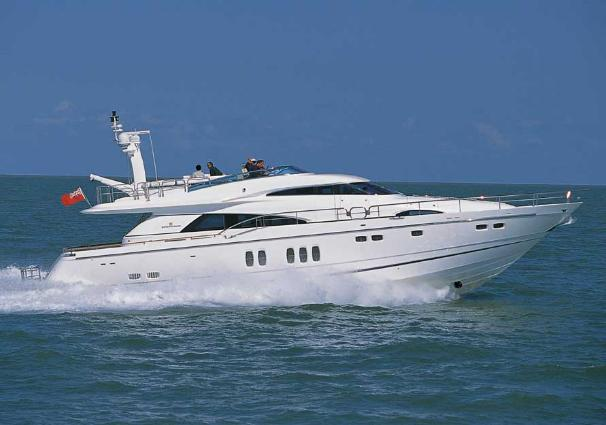 Fairline 74 Custom Yacht Manufacturer Provided Image: Squadron 74