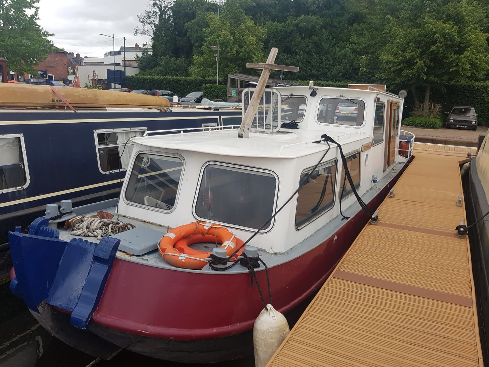 Tjalk 38ft Dutch Barge