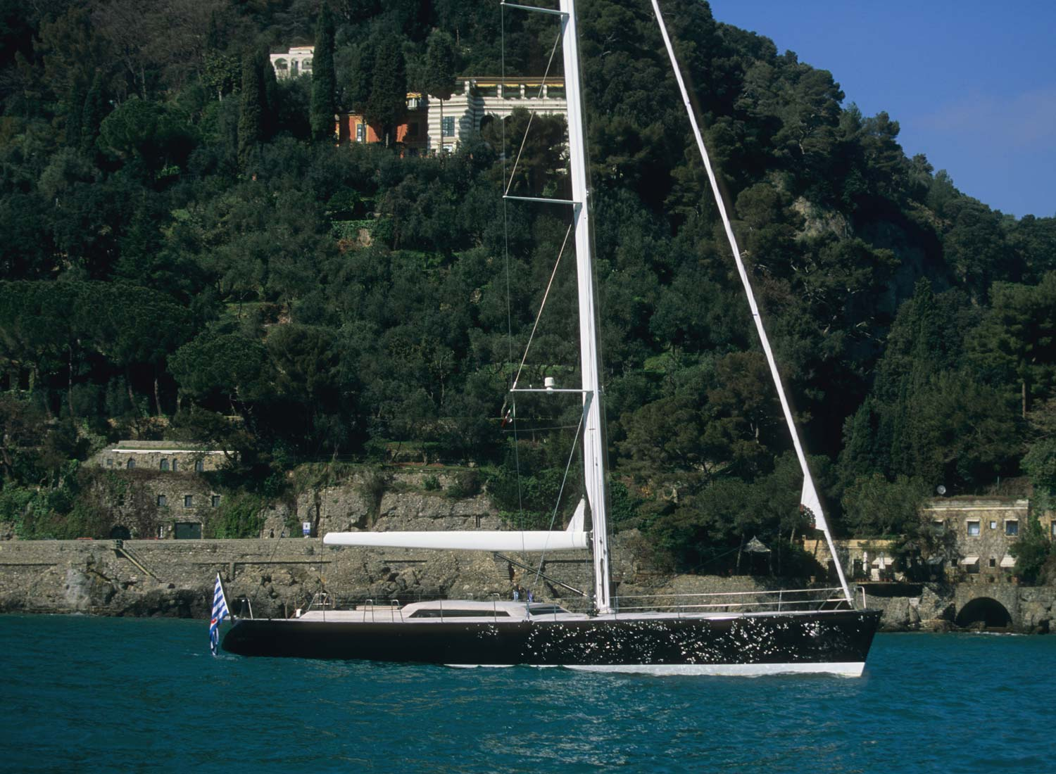 Wally Yachts WALLY 77 Barong B at Anchor