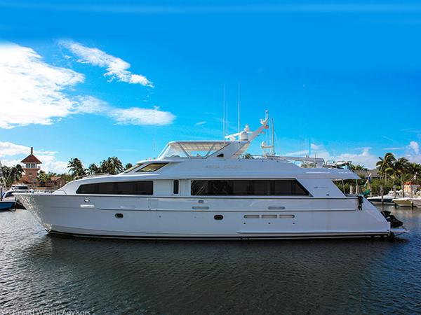 Hatteras 92 Motor Yacht Profile