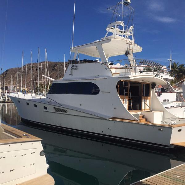 Bertram Sport Fishing Motor Yacht Profile
